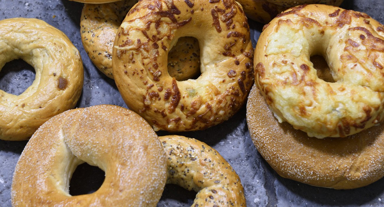 selection of bagels